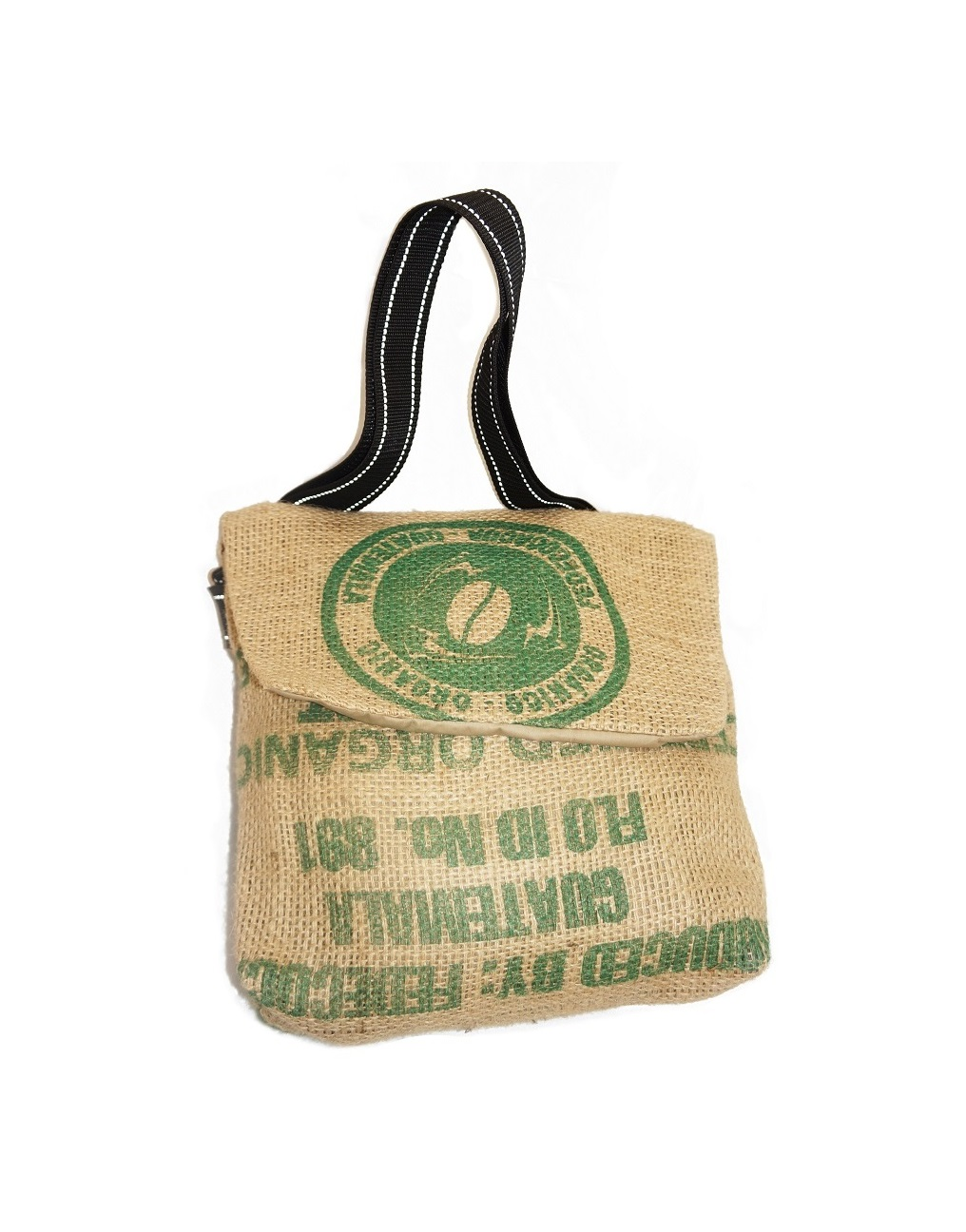 702b9d6584 Small recycled coffee sack bag. – Kafe 1788